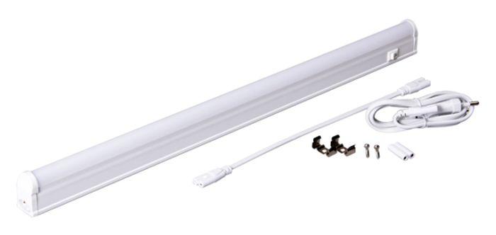 Светильник светодиодный Jazzway PLED T5i PL 900, линейный, IP40, 4000K, 10 Вт.2850645АJazzway Светильник LED линейный PLED T5i PL 900 10W 4000K белый 872х22х36mm