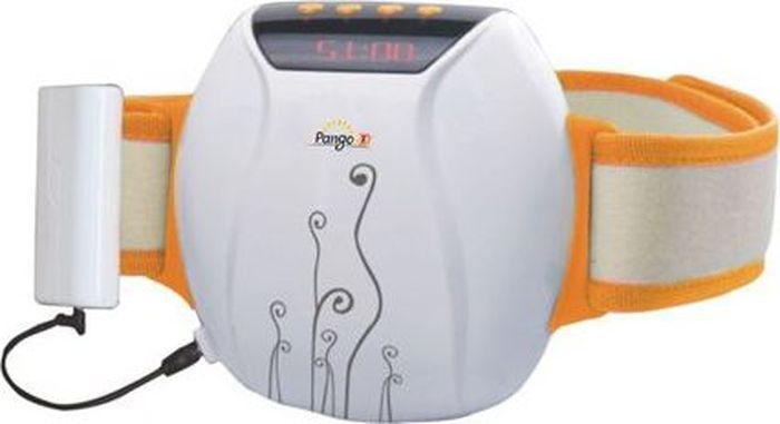 Pango Массажер Пояс Красоты для похудания и поддержания стройностиPNG-BM40Пояс Красоты - эффективный вибромассажный пояс для снижения лишнего веса, улучшения кровообращения. Способствует уменьшению жировых отложений, особенно в области талии. Главное преимущество — работает от перезаряжаемого элемента питания, который удобно крепится на поясе. Это освобождает пользователя от привязки к электросети. Можно свободно перемещаться и одновременно осуществлять эффективный массаж, улучшающий лимфодренаж, способствующий похуданию и хорошему самочувствию. Удобное управление. Автоматический и два ручных режима массажа на выбор. 5 ступеней интенсивности массажа. Автоматическое отключение через 15 минут работы.