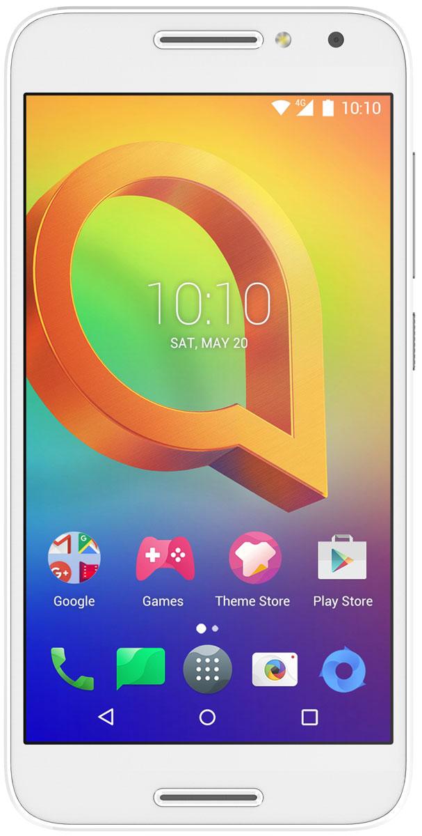 Alcatel OT-5046D A3, Pure White4894461457734Благодаря изящному дизайну Alcatel OT-5046D A3 излучает очарование со всех сторон.Яркий и четкий IPS HD экран смартфона Alcatel OT-5046D A3 с диагональю 5 дюймов позволит вам наслаждаться кино, играми и другими развлечениями.Четырехъядерный процессор обеспечивает плавную работу сразу нескольких приложений, запущенных одновременно. А благодаря технологии 4G LTE вы сможете быстрее загружать видео и с комфортом просматривать страницы в Интернете.Благодаря 13-мегапиксельной основной камере со множеством фильтров и автофокусом на лице, а также 5-мегапиксельной фронтальной камере вы можете создавать яркие и интересные фотоснимки.Используйте встроенный в телефон приёмник GPS для определения своего местоположения с точностью до нескольких метров.Общайтесь в социальных сетях, выкладывайте фото и видео, скачивайте любимые приложения с Alcatel OT-5046D A3. Ваши возможности не ограничены благодаря 4G и Wi-Fi подключениям, а также новейшей версии Android.Телефон сертифицирован EAC и имеет русифицированный интерфейс меню и Руководство пользователя.