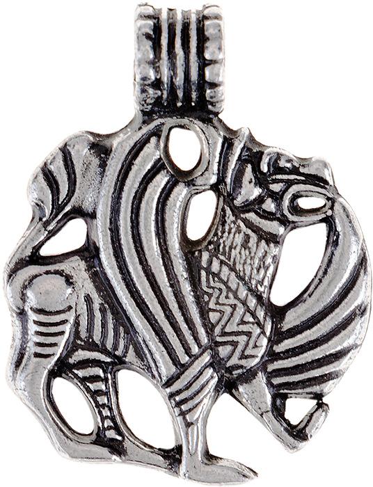 Амулет защитный Гифтман №22 Семаргл-Огнебог, материал: олово. Авторская работа. 71722Браслет с подвескамиАмулет, талисман. Можно использовать в виде подвески либо в виде брелока.Защищает жизнь и благополучие, умножает силы, приносит победу и славу.
