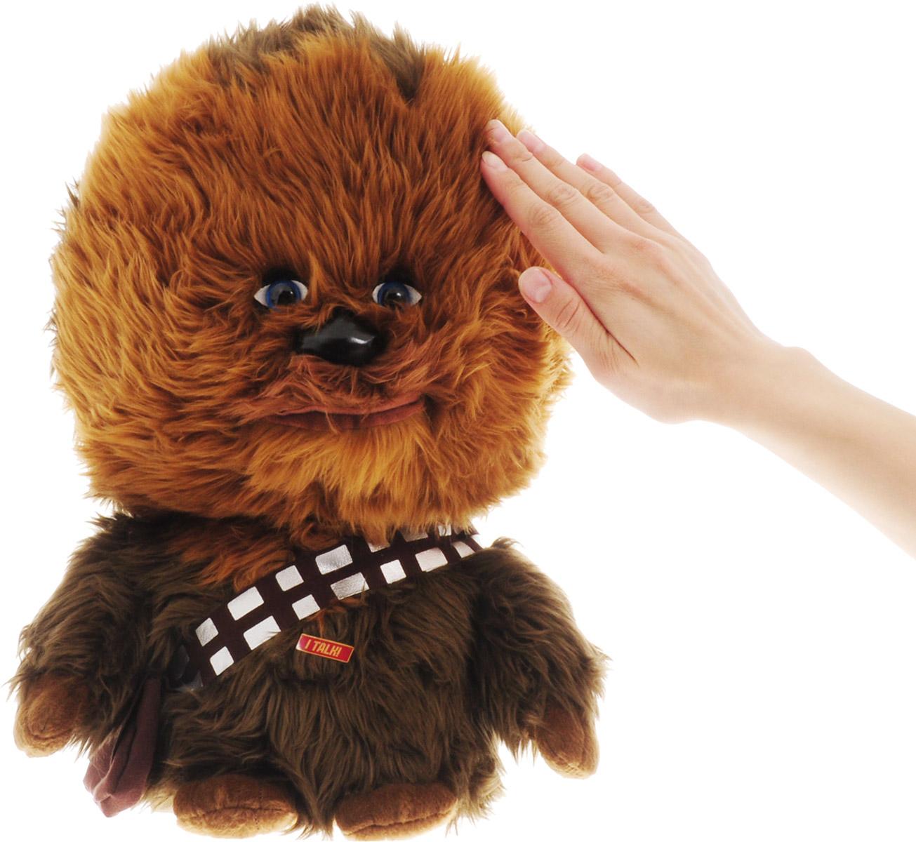 Star Wars Игрушка StarWars Чубакка плюшевый со звуком - 3