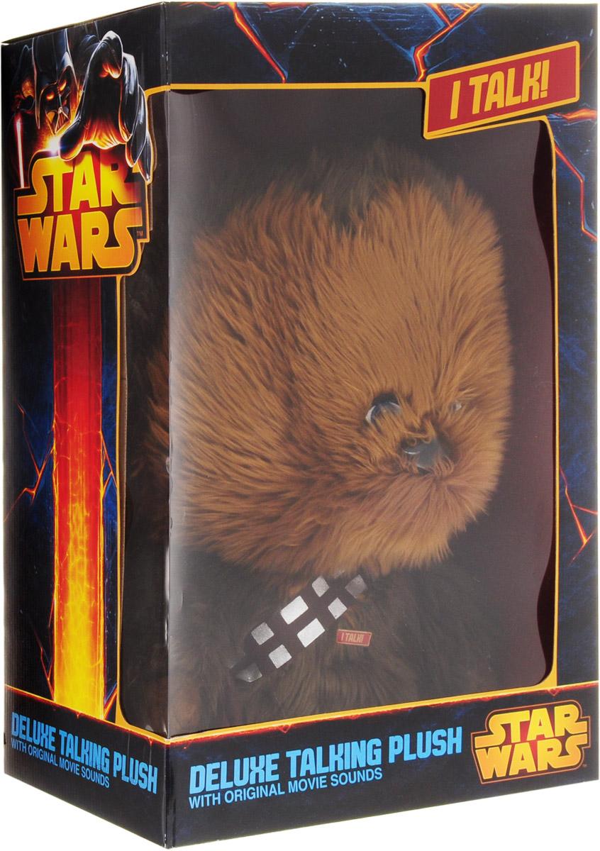 Star Wars Игрушка StarWars Чубакка плюшевый со звуком - 4