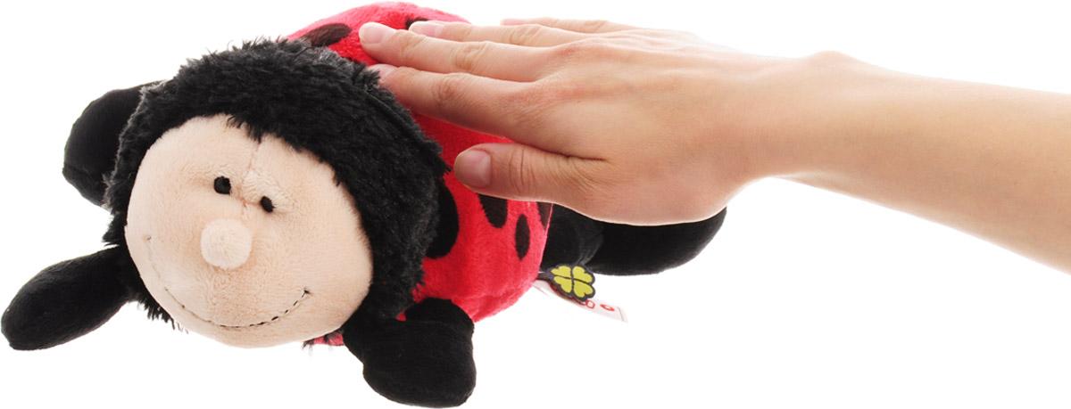 """Мягкая игрушка Nici """"Божья коровка"""", лежачая, средняя - 3"""