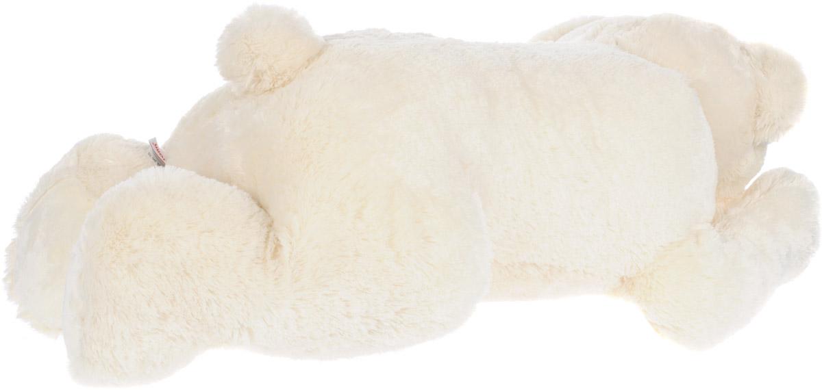 """Мягкая игрушка Aurora """"Медведь"""", лежачий, цвет: белый. - 2"""