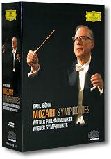 Karl Bohm. Mozart - Symphonies. Wiener Philharmoniker / Wiener Symphoniker (3 DVD) richard strauss karl bohm salome