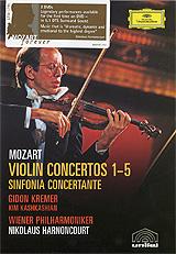 Mozart, Gidon Kremer: Violin Concertos 1-5 (2 DVD) 2011