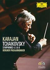 Tchaikovsky, Herbert Von Karajan: Symphonies 4, 5 & 6 2011 DVD