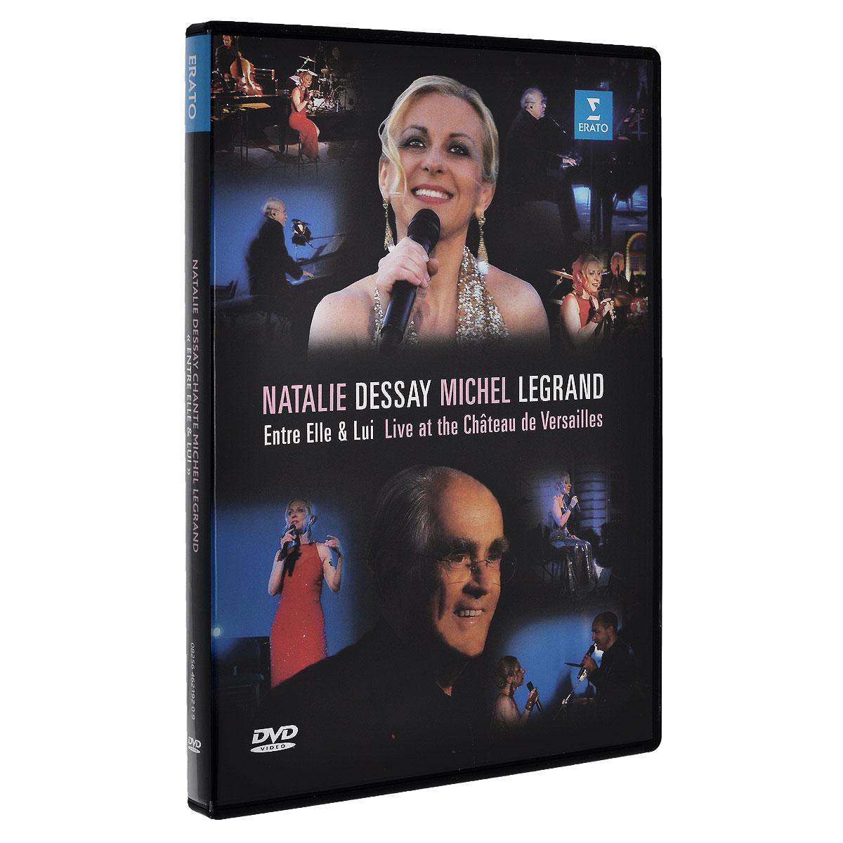 Natalie Dessay, Michel Legrand: Entre Elle & Lui (Live At The Chateau De Versailles) 2014 DVD