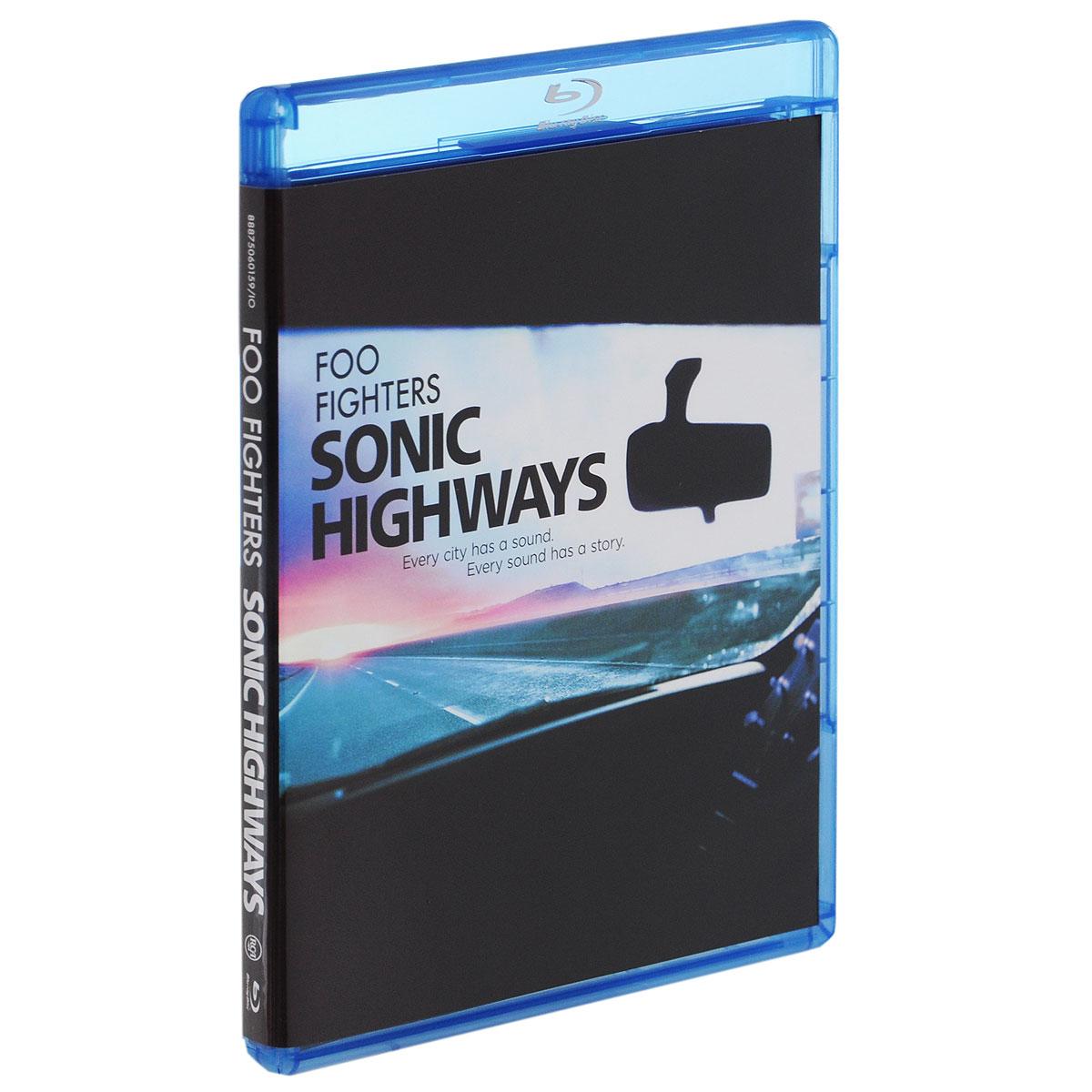 Foo Fighters: Sonic Highways (3 Blu-ray) 2015