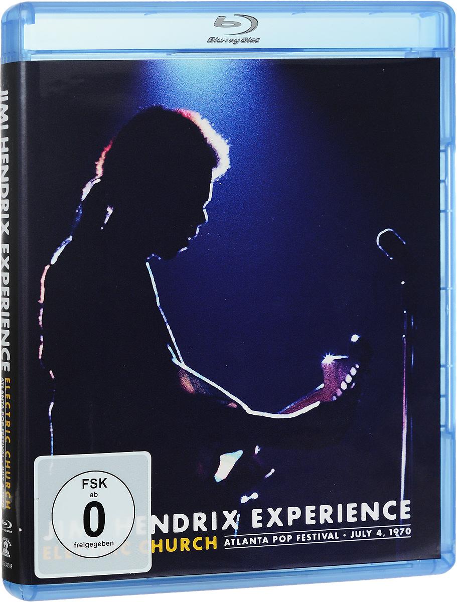 Jimi Hendrix Experience: Electric Church: Atlanta Pop Festival: July 4, 1970 (Blu-ray) 2015