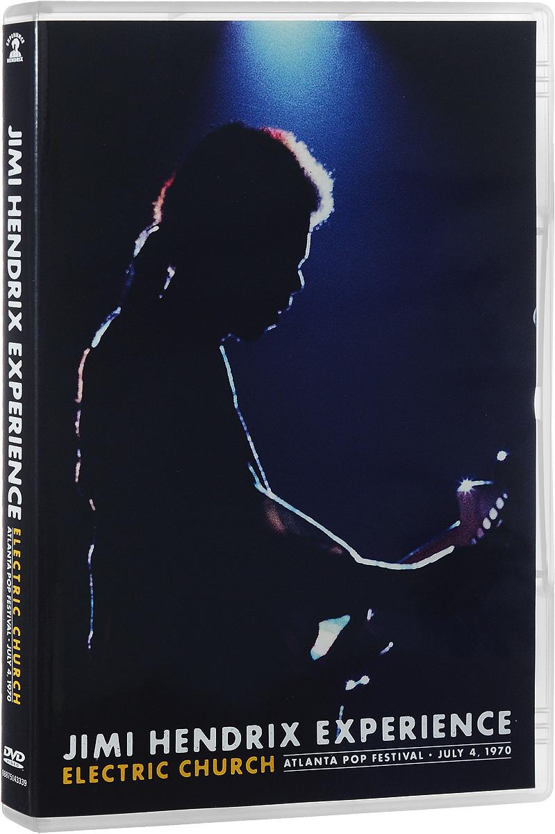 Jimi Hendrix Experience: Electric Church: Atlanta Pop Festival: July 4, 1970 2015 DVD