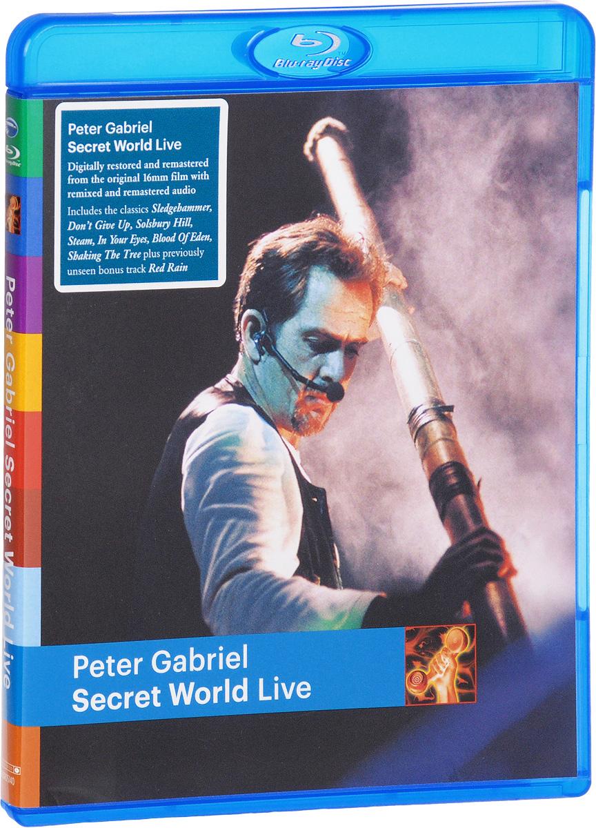 Peter Gabriel: Secret World - Live (Blu-ray) декор cersanit dalia многоцветный д2 30x45